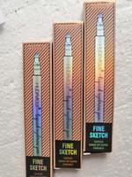 모지 액체 눈썹 펜 음악 꽃 눈썹 증강 3 색 네 머리 눈썹 증강 방수 무료 DHL