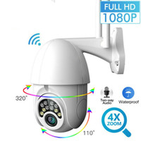 2MP Outdoor PTZ ip Camera WIFI 1080P HD Two Way Audio À Prova de água IR Night Vision camera Home Security Surveilance CCTV Cameras V380