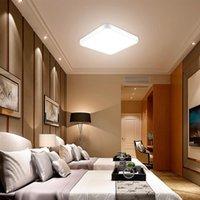 24W Ultra dünn quadratische Lichtvorrichtung moderne minimalistische Wohnzimmerlampen Home Schlafzimmerlampe Decke LED-Beleuchtung