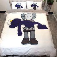 Luxus-Heimtextilien Bettbezug pillowcase Sätze wärmen Soft Classic Schleifen Baumwolle Set für viele Size-Bett 4pcs / set HT2059