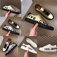 السنة في عام 2020 جديد أزياء الرجل مصمم أحذية متقدمة دليل الترفيه رياضة شحن مجاني Size38 ~ 45 الفضة الأبيض