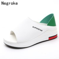 2019 New Fashion Women Sandals Summer Platform Sandal Shoes ...