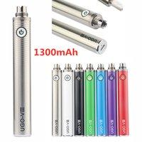 Original Ugo v3 1300mAh 마이크로 USB 배터리 전자 담배 vape 배터리 개조 적합 ego ce4 분무기