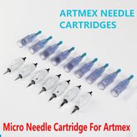 خرطوشة الإبرة الصغيرة ل ARTMEX V8 V6 V11 V9 ماكياج الدائم آلة الوشم ديرما القلم MTS PMU العناية بالبشرة