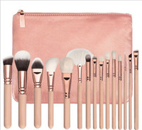 Brand high quality Makeup Brush 15PCS Set Brush With PU Bag ...