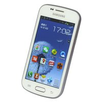 Samsung GALAXY Trend Duos II S7572 3G WCDMA Cell Phones ROM 4.0Inch Dual Core 3.0MP Android Refurbished الهاتف الأصلي