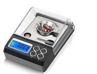 محمول محترف مجوهرات الموازين 20 جرام، 30 جرام، 50 جرام / 0.001 جرام مع شاشة LCD مقياس رقمي للمجوهرات / Diomen / الطب موازين