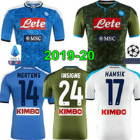 INSIGNE Top quality 19 20 Napoli soccer jersey Naples footba...
