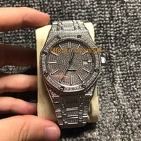 Full Diamond Watch Man Best Quality Iced Out Watch Automatic...