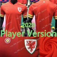 2020 2021 País de Gales Player versão camisa de futebol da equipe nacional BALE 20 21 futebol camisa do Jogador