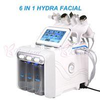 6 в 1 гидра hydrodermabrasion лица воды дермабразия aqual пилинг кожи лица профессиональная машина