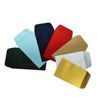Brisher Feuille d'aluminium Enveloppe d'enveloppe d'impression Perle Bronzing Enveloppe d'emballage Enveloppe Enveloppe Papier spécial Emballage cadeau YFA2039-1