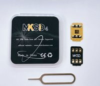 MKSD 3M zelfklevende lijm VSIM V7 V6 voor iOS 14 13.5.1IPHONE 5S / SE2 / 6/7 / 8 / X XS XR XS MAX 11 PRO MAX