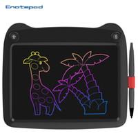 9 بوصة LCD الكتابة اللوحي رسم لوحات ورقة توفير محو صديقة للبيئة لوحة الوسادة لعب الاطفال والذكي وحي الأعمال