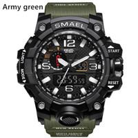 Novas Smael relógios dos esportes dos homens Relogio, LED relógio de pulso cronógrafo, relógio militar, relógio digital, bom presente para o menino dos homens, dropship
