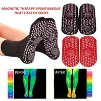 Bequeme Magnetfeldtherapie Socken Komfortable Selbst Heizung Health Care Socken Turmalin atmungsaktiv Massage Winter warme Fußpflege Socke