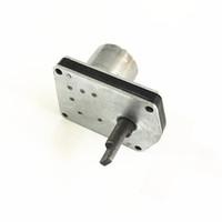 Motor da válvula do motor do calorímetro de 3V 0.8RPM limite de 90 graus positivo e reverso