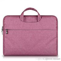 UK حقيبة سعة كبيرة الكمبيوتر المحمول حقيبة الكمبيوتر المحمول حقيبة للنساء رجال تجارية (سابقا) السفر للحصول على 11 12 13 14 15.6 بوصة ماك بوك برو PC كم حالة