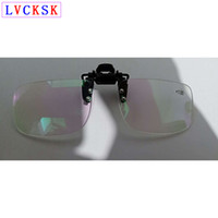 10pcs / lot Unisex Clip On Óculos de leitura Magnifier Mulheres Homens sem aro presbiopia Óculos clipes Lens + 1.0- 3,5