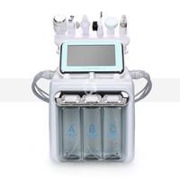 Professionnel Hydro microdermabrasion Soins de la peau du visage Détachant Eau Aqua Spa Peel dermabrasion ultrasons microcourants dermabrasion machine
