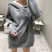 34 2019 Spring Brand Same Style Pullover Sweater Gray Black ...