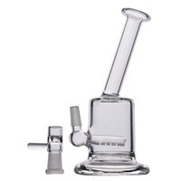 150mm High Sall Mini Bongs Recycler Oil Rigs Clear Thick Gla...