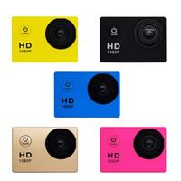 1080 P Kask Spor DVR DV Kamera Video Araba Cam Full HD Aksiyon Su Geçirmez Sualtı 30 M Kamera Ücretsiz DHL