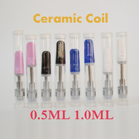 Vape Cartridges Atomizer Thick Oil Carts Ceramic Coil Mouthp...