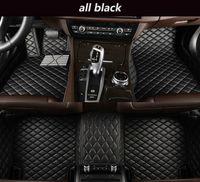 Pour à Cadillac ATS-L 2015-2017 Tapis non toxique non toxique respectueux de l'environnement sans glissement
