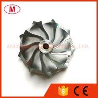 K04 5304-123-2036 41,00 / 50.96mm 9 + 0 lames Performance Turbo Point de fraisage roue / billettes roue de compresseur pour turbocompresseur 5303-970-0086 / 0087