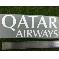 2014-2016 LA LIGA QATAR Airways Sponsor Yama Demir On Yamalar Boyutu Uzunluktur 22.8cm Yüksekliği 8.8 cm Futbol Yama
