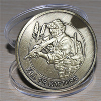 Ejército británico UK Special Air Service que se atreven GANA matar o capturar Coin Challenge, el envío Hotsales libres de monedas de recuerdo