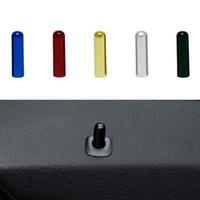 Botão de fechadura de porta Botão de porta porta porta tampa tampa de tampa para bmw f10 f02 f07 e70 525 730 x1 x6 acessórios 5 cores