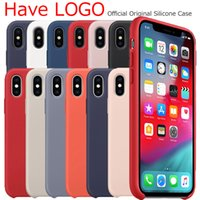 Have logo original Silicone Case For iphone 8 Plus 7 6S case...