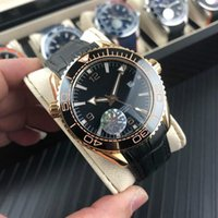 GA750 mechanical wrist watch 44mm13mm western tiecheng automatic movement blue - ray - plated glass - ceramic ring mouth 316 fine steel cas