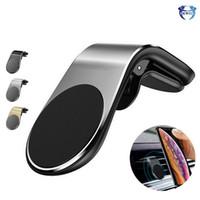 마그네틱 자동차 전화 홀더 공기 통풍 자동차 마운트 클립 휴대 전화 브래킷 아이폰에 대 한 유니버설 삼성 화웨이 스마트 폰