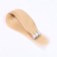Pu Band Haarverlängerungen, indische Remy Klebeband-Haar-Verlängerungen, 20pcs Beutel insgesamt 50 g einer Packung