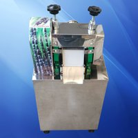 Der Hersteller verkauft direkt Edelstahl Zuckerrohr Juicer / kleiner Körper mit großer Kapazität Maschine / automatische Saftpresse