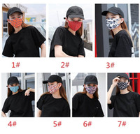 Women Men Print Designer Face Mask Dustproof Mouth Mask Outd...