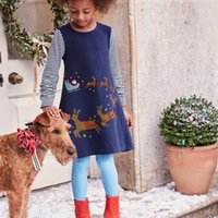 Children' s Dress 42 Styles Autumn Cartoon Cute Cotton L...