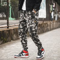 Spring Camouflage Pants Men Hip Hop Streetwear Trouser Men L...