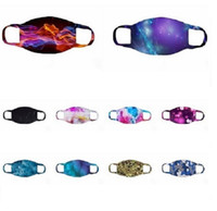 10 Color Star Print Designer Masks Anti Dust Hanging Ear Pro...
