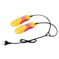 무료 배송 자동차 경주 모양 Voilet 가벼운 신발 건조기 발 보호대 부팅 냄새 탈취 제습 장치 신발 건조기 히터