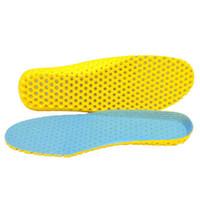 Stretch atmungsaktive Deodorant Laufkissen Einlegesohlen Füße Mann Frauen Komfortable Einlegesohlen Schuhe Sohle Orthopädische Pad Memory Foam