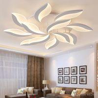 Yeni Tasarım Akrilik Modern LED Tavan Işıkları Oturma Odası Yatak Odası Lampond Avize Kapalı Tavan Lambası Için
