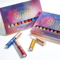 Langmanni 10 Teile / satz Glitter Eyeliner Pen Makeup Flüssiger Lidschatten Textmarker Leicht zu Tragen Schönheit Make Up Kosmetik Kits