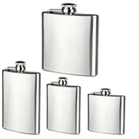 Bottle Whisky Stainless Steel Wine Hip Flask 1 5 7 8oz Trave...