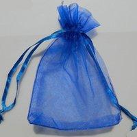 50 قطع أكياس الأورجانزا 29 * 39 سنتيمتر الأسود مخصص حقائب مجوهرات 50 قطعة / الوحدة الرباط هدية الحقائب الكبيرة ل عرس الحسنات 7ZSH321-50
