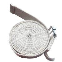 3Meter Yoga faixa do estiramento algodão grosso Lace Banda Abrir ombro Expansão Chest Cintos Yoga Duplo Anel Fivela de alta qualidade