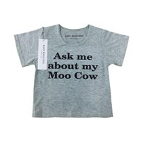 Ask Me About My Moo Cow T Shirt Funny Animal Flip Shirt Baby...